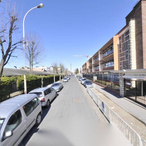 Parking Parc Départemental des Sports de la Motte - Pont de Pierre - Parking - Bobigny