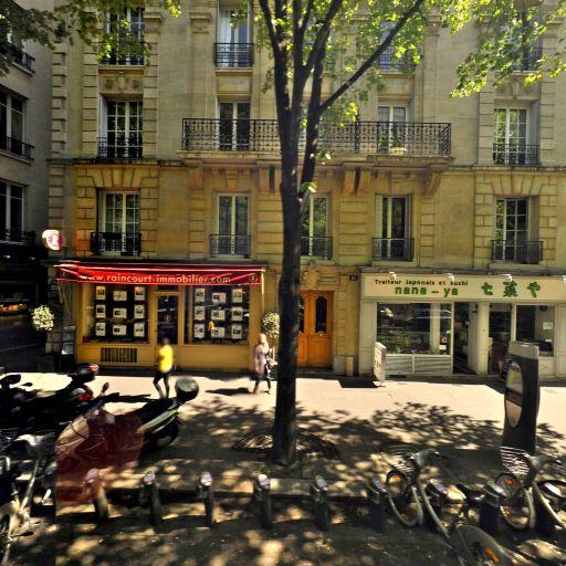 Station Vélib' Mozart - Jasmin - Vélos en libre-service - Paris