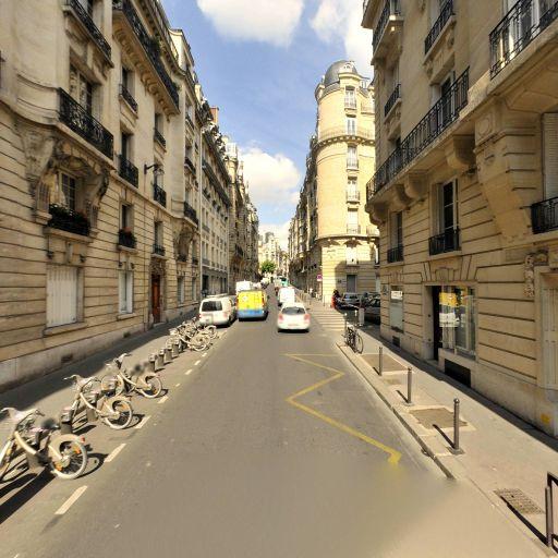 Station Vélib' George Sand - Jean de La Fontaine - Vélos en libre-service - Paris
