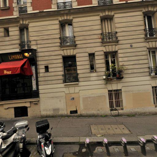 Station Vélib' Francoeur - Caulaincourt - Vélos en libre-service - Paris