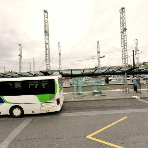 Aire de covoiturage Station tram LE CARDO - Aire de covoiturage - Orvault