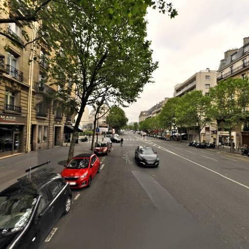 Association Sportive Dixmude - Terrain et club de tennis - Paris