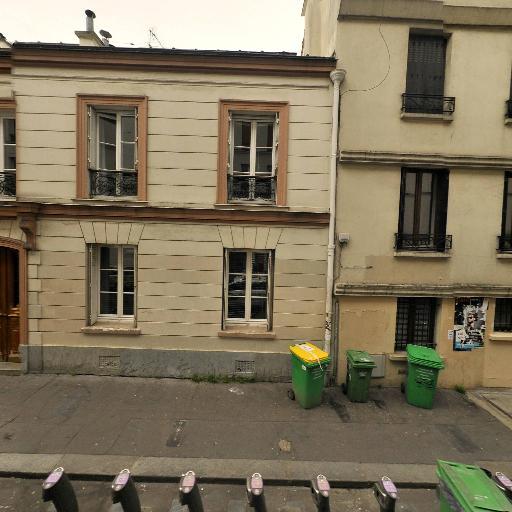 Station Vélib' Boyer - Ménilmontant - Vélos en libre-service - Paris