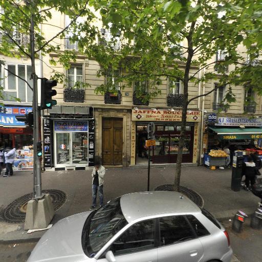 Station Vélib' Louis Blanc - La Chapelle - Vélos en libre-service - Paris