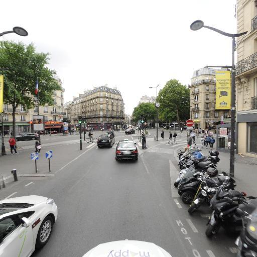 Station Vélib' Gare du Nord - Dunkerque - Vélos en libre-service - Paris