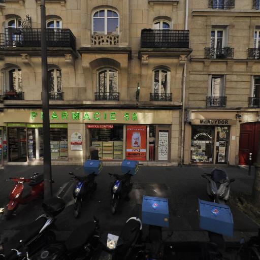 Pharmacie 58 - Pharmacie - Paris