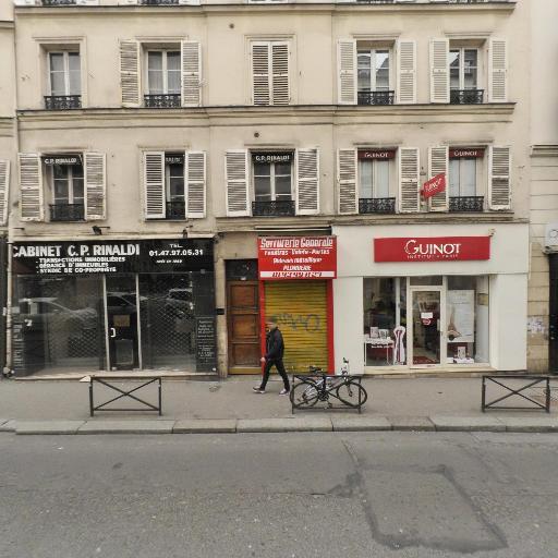 Bellevilloise - Vitrerie - Paris