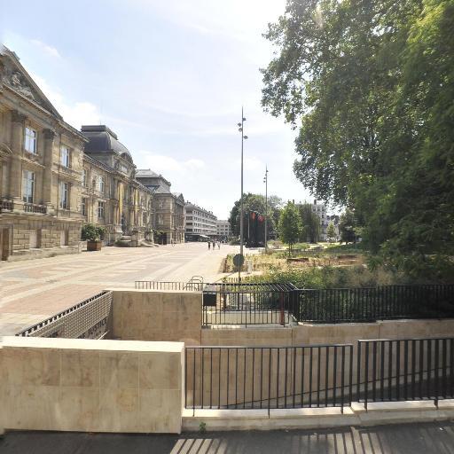 Parking Palais de Justice - Musée des Beaux Arts - Parking - Rouen