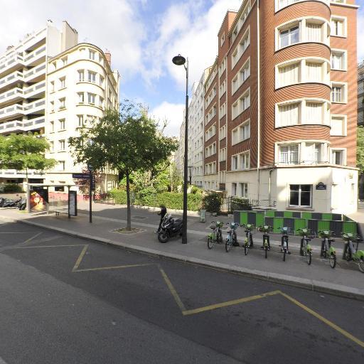 Station Vélib' Lecourbe - Convention - Vélos en libre-service - Paris