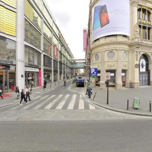 Haussmann Printemps - Parking - Paris