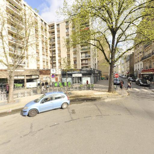 Station Vélib' Place Falguière - Vélos en libre-service - Paris