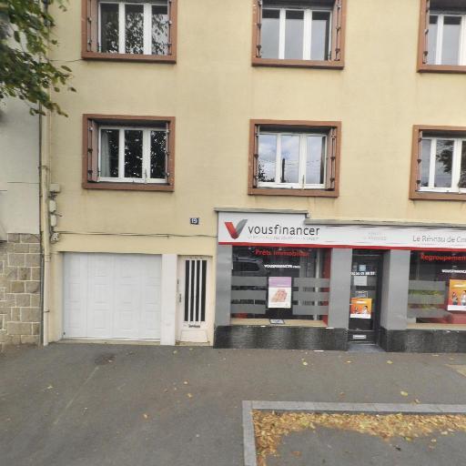 Vousfinancer Rennnes Ouest SARL - Courtier financier - Rennes