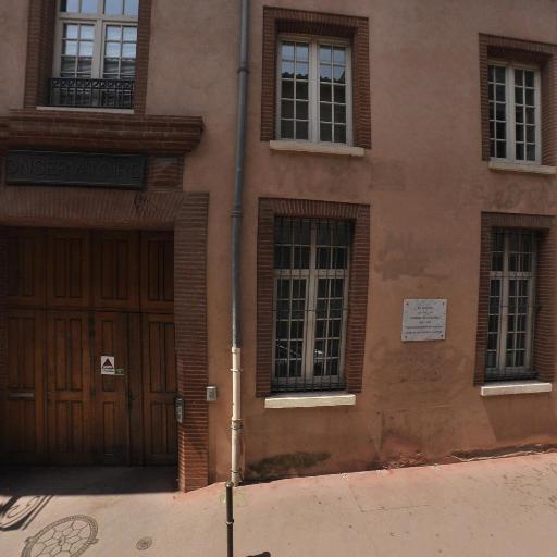 Conservatoire à rayonnement régional - Grande école, université - Toulouse
